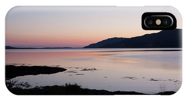 Calm Sunset Loch Scridain IPhone Case