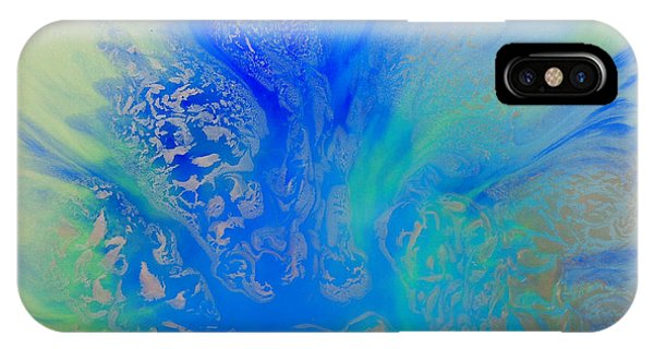 Calm Waters Abstract IPhone Case