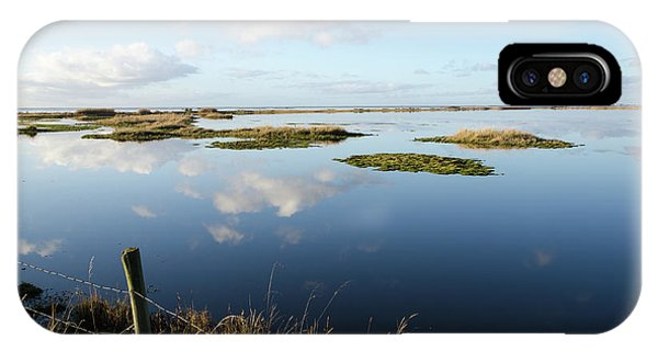 Calm Wetland IPhone Case