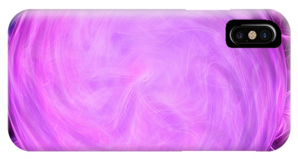 Fire Ball iPhone Case - Calm Within The Storm by Krissy Katsimbras