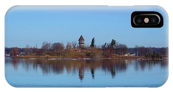 Calumet Island Reflections IPhone Case