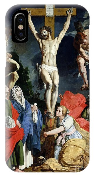 Religious iPhone Case - Calvary by Abraham Janssens van Nuyssen