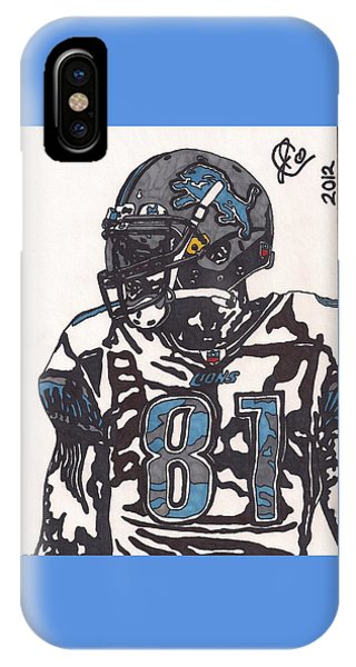 Calvin Johnson Jr 3 IPhone Case