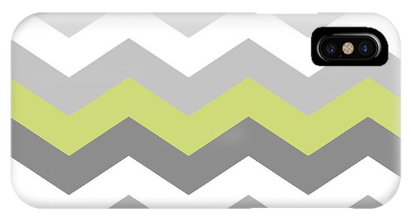 Cute iPhone Case - Calyx Chevron Pattern by Mindy Sommers