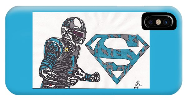 Cam Newton Superman Edition IPhone Case