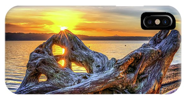 Camano Sunrise IPhone Case