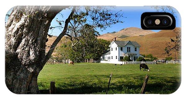 Cambria Farm House IPhone Case