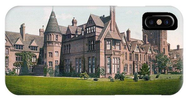 Cambridge - England - Girton College IPhone Case