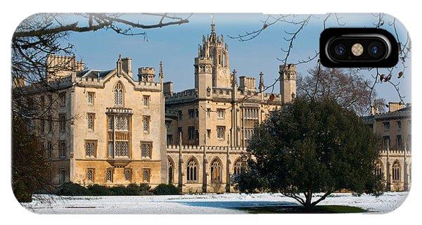 Cambridge Snowscape IPhone Case