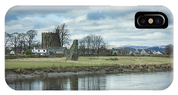 Cambuskenneth Abbey And The River Forth IPhone Case