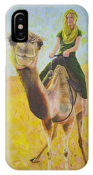 Camel At Work IPhone Case