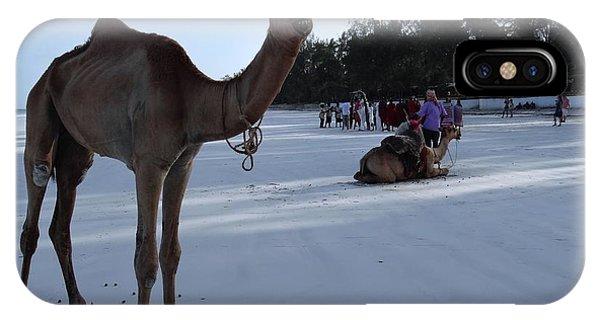 Exploramum iPhone Case - Camel On Beach Kenya Wedding 6 by Exploramum Exploramum