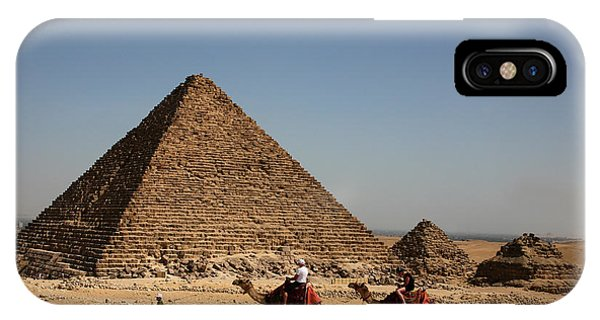 Camel Ride At The Pyramids IPhone Case