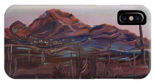 Camelback Mountain IPhone Case