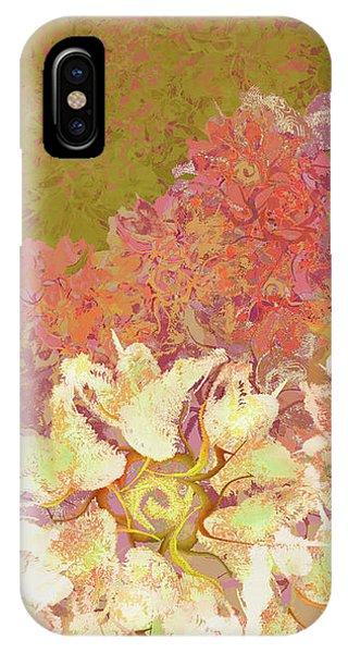 Camellia Hedges IPhone Case