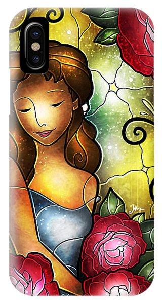 Lady Camellia IPhone Case