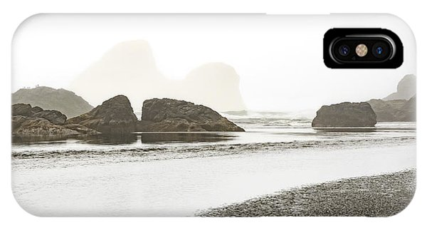 IPhone Case featuring the photograph Camel Rock From Moonstone Beach by Jon Exley