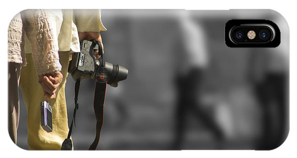 Cameras Unholstered IPhone Case
