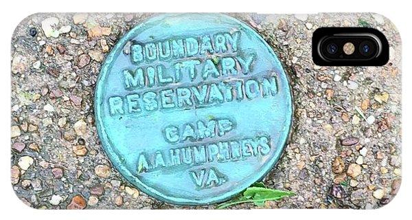 Camp A.a. Humphreys IPhone Case