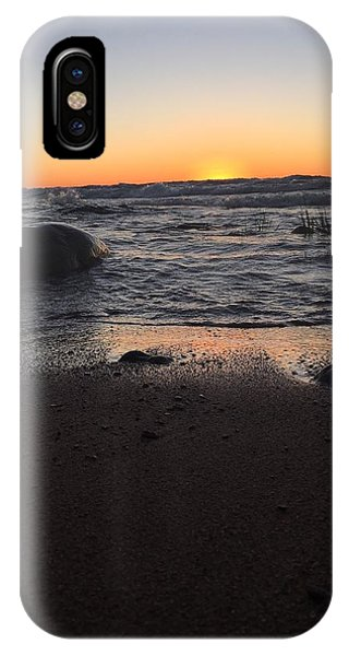 Camp In The Fall IPhone Case