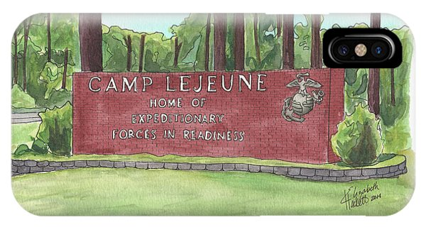 Camp Lejeune Welcome IPhone Case