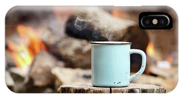 Campfire Coffee IPhone Case