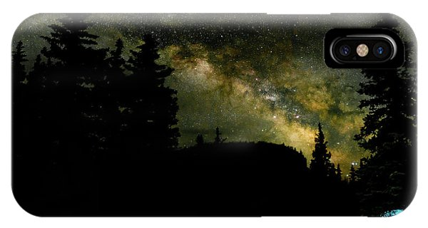 Camping Under The Milky Way 2 IPhone Case
