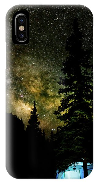 Camping Under The Milky Way IPhone Case