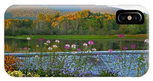 Campton Pond Campton New Hampshire IPhone Case