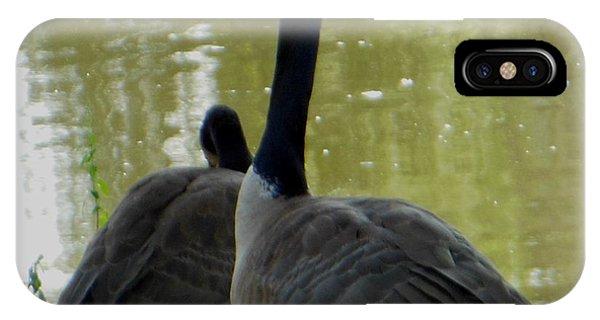 Canada Goose Edge Of Pond IPhone Case