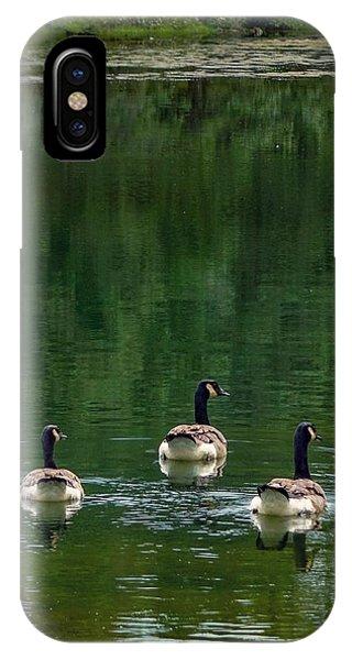 Canada Goose Trifecta IPhone Case