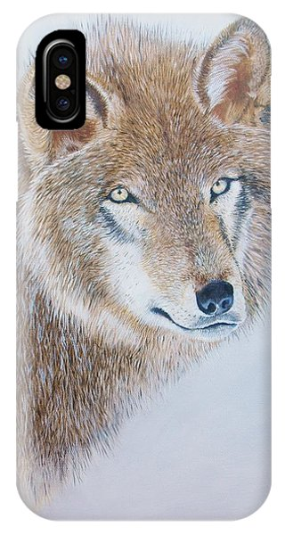 Canada Grey Wolf. IPhone Case