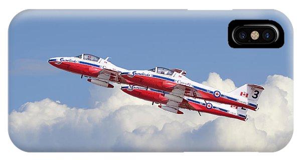 Canadian Air Force Aerobatic Team - Snowbirds IPhone Case