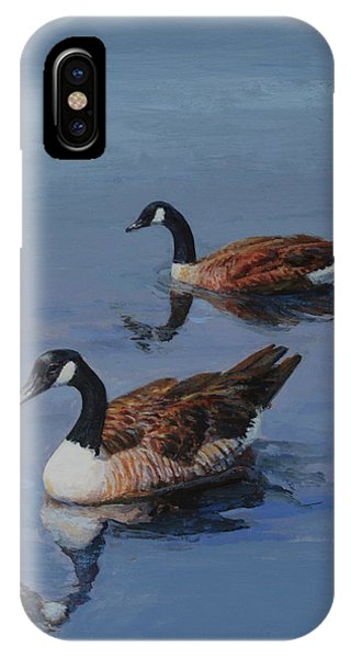 Canadian Geese IPhone Case