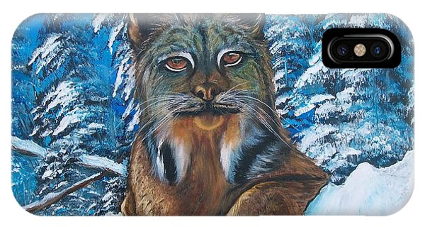 Canadian Lynx IPhone Case