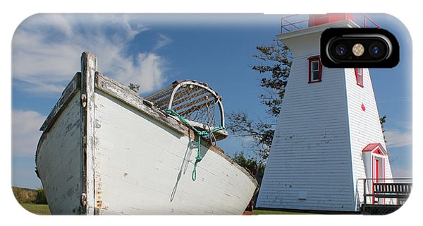 Canadian Maritimes Lighthouse IPhone Case