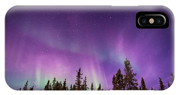 Canadian Northern Lights IPhone Case