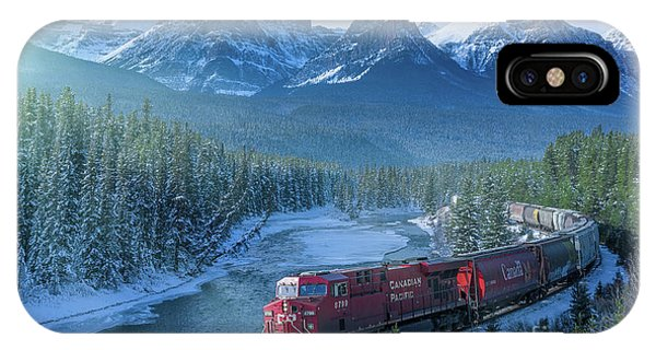 Canadian Pacific Railway Through The Rocky Mountains IPhone Case