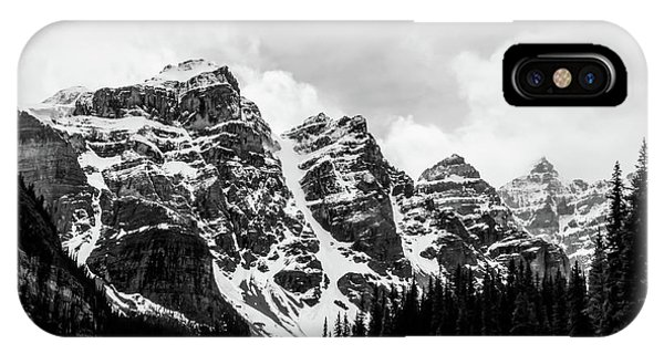 Canadian Rockies Alberta Canada IPhone Case