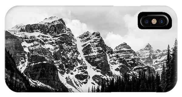 Canadian Rockies Alberta Canada IPhone Case