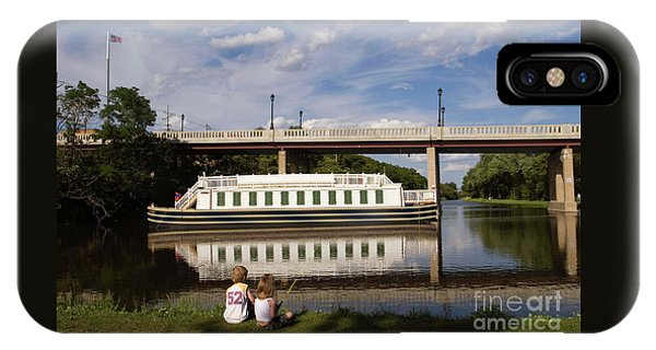 Canal Boat  IPhone Case