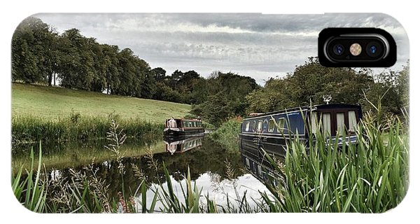 Canal Boats IPhone Case