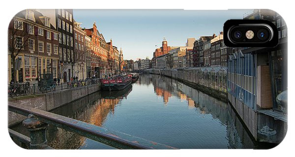 Canal From The Bridge IPhone Case
