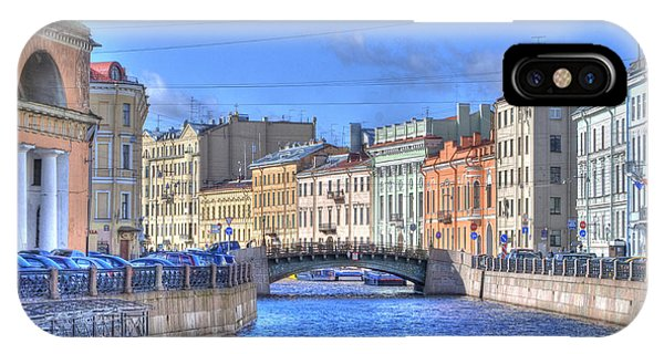 Canal In St. Petersburgh Russia IPhone Case