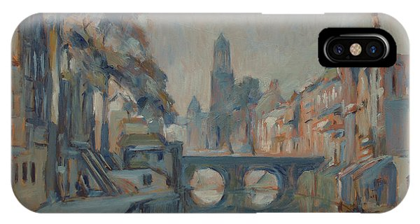iPhone Case - Canal In Utrecht by Nop Briex