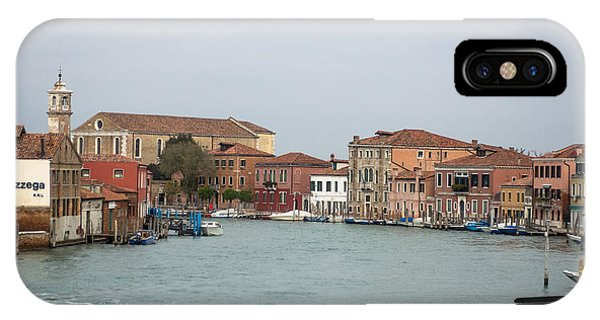 Canal Of Murano IPhone Case