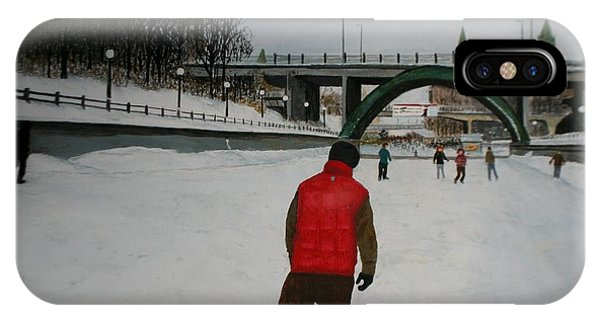 Canal Skate IPhone Case