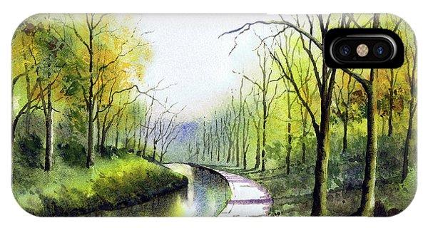 iPhone Case - Canal Sowerby Bridge by Paul Dene Marlor