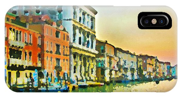 Canal Sunset - Venice IPhone Case