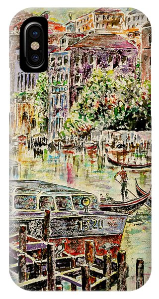 Canale Grande IPhone Case